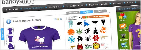 T-Shirts zum selbst gestalten