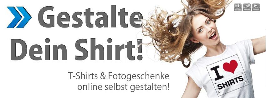 Ein T-Shirt, nach deinen Vorstellungen gestaltet