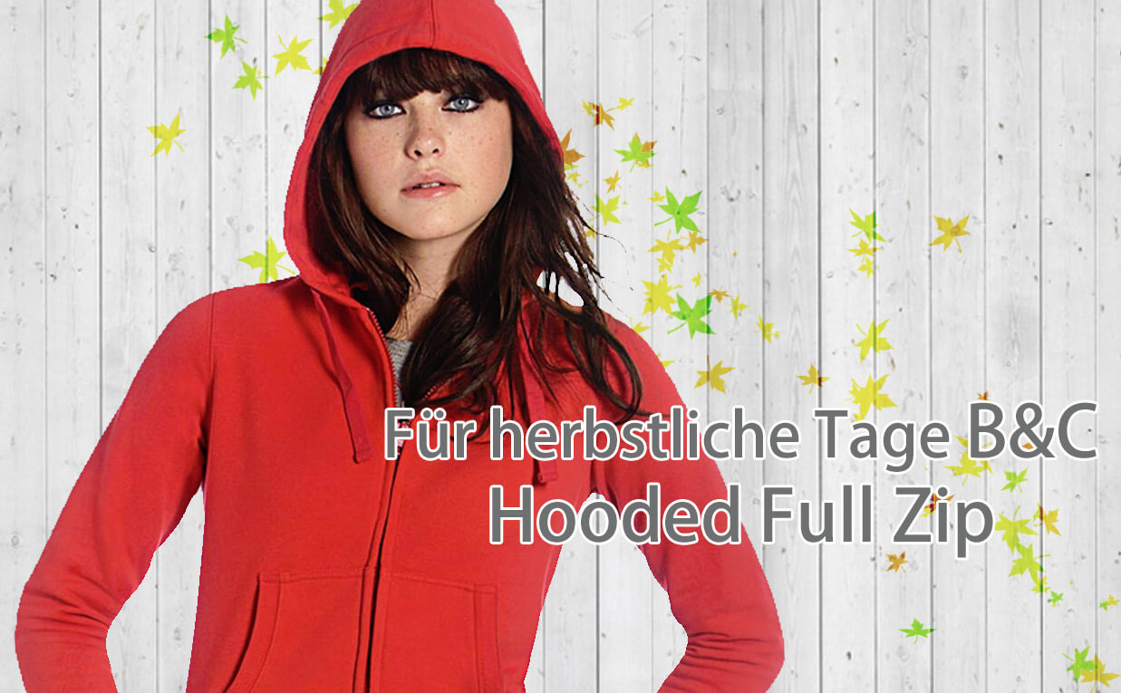 Hooded Full Zip von Bandyshirt