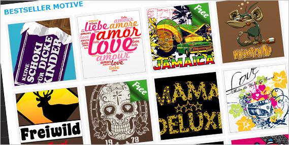 Hunderte Motiv-Ideen in unserem Onlineshop
