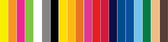 20 Tolle Flock - Farben
