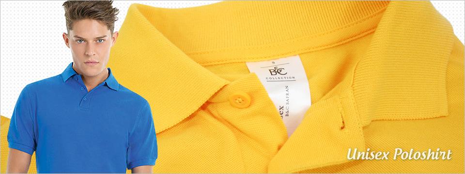 Unisex Poloshirt von Safran