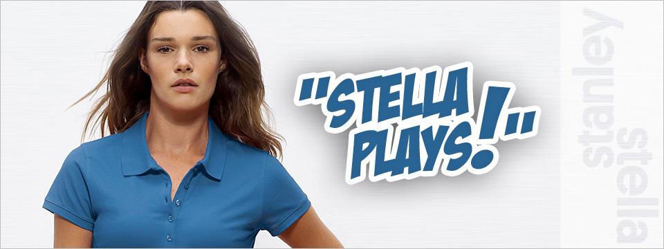 Das neue Damen-Polo Stella Plays selbst gestalten