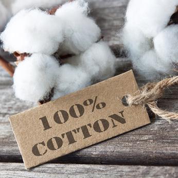 100 Prozent Baumwolle