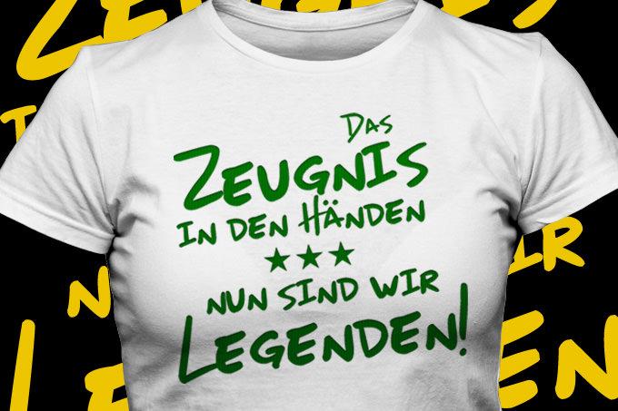 Mit Abschluss T Shirts Das Ende Der Realschule Feiern Bandyshirt