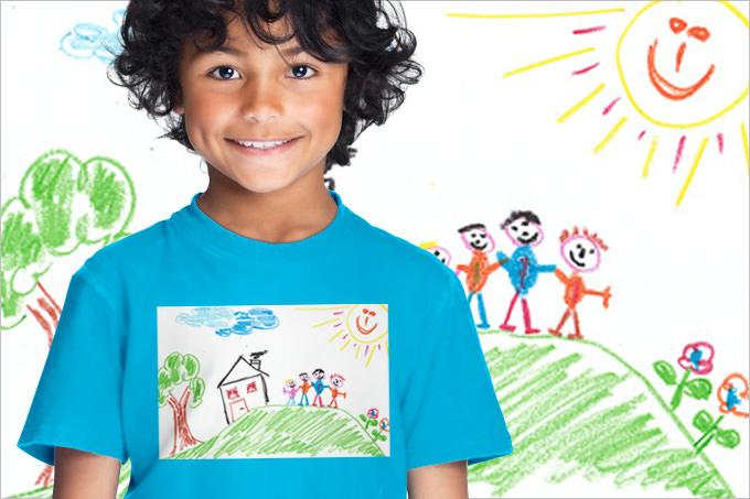 Shirts für Kinder selbst gestalten