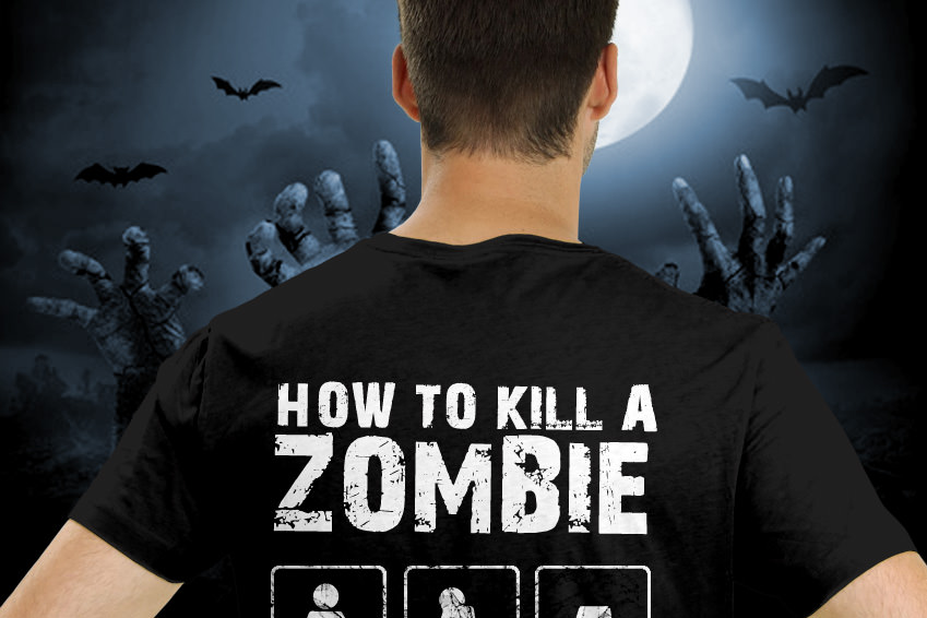 T-Shirts mit lustigen Anleitungen selbstgestalten