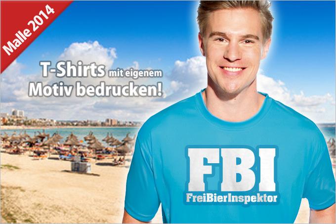 Malle-Shirts für den nächsten JGA selbstgestalten