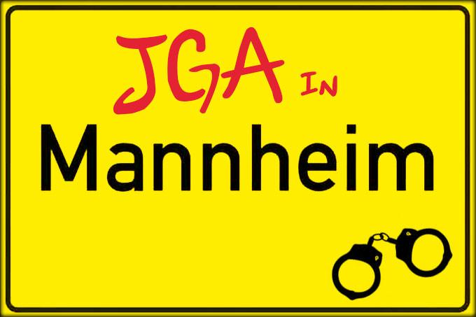 Jungesellenabschied und JGA in Mannheim