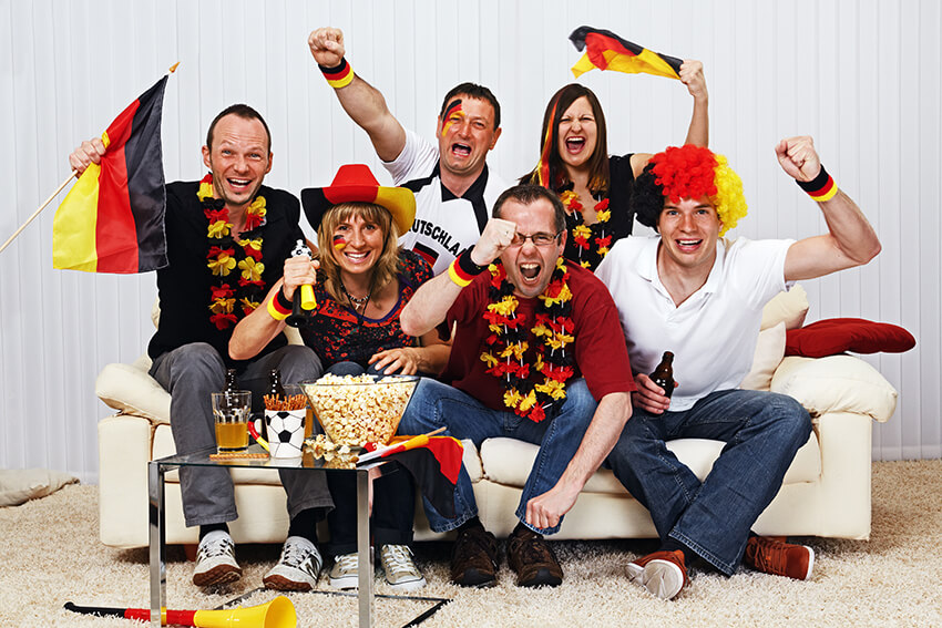 Gestalte DEIN Deutschland-T-Shirt jetzt!