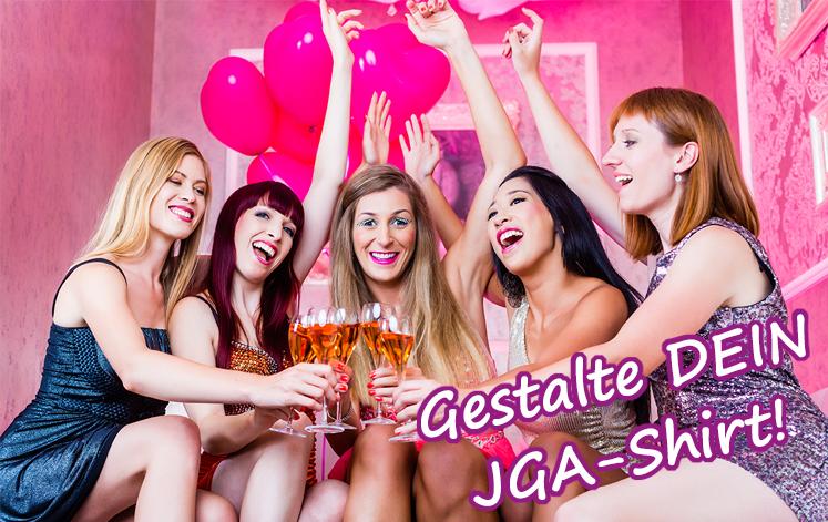 JGA-Shirts für deinen Junggesellenabschied