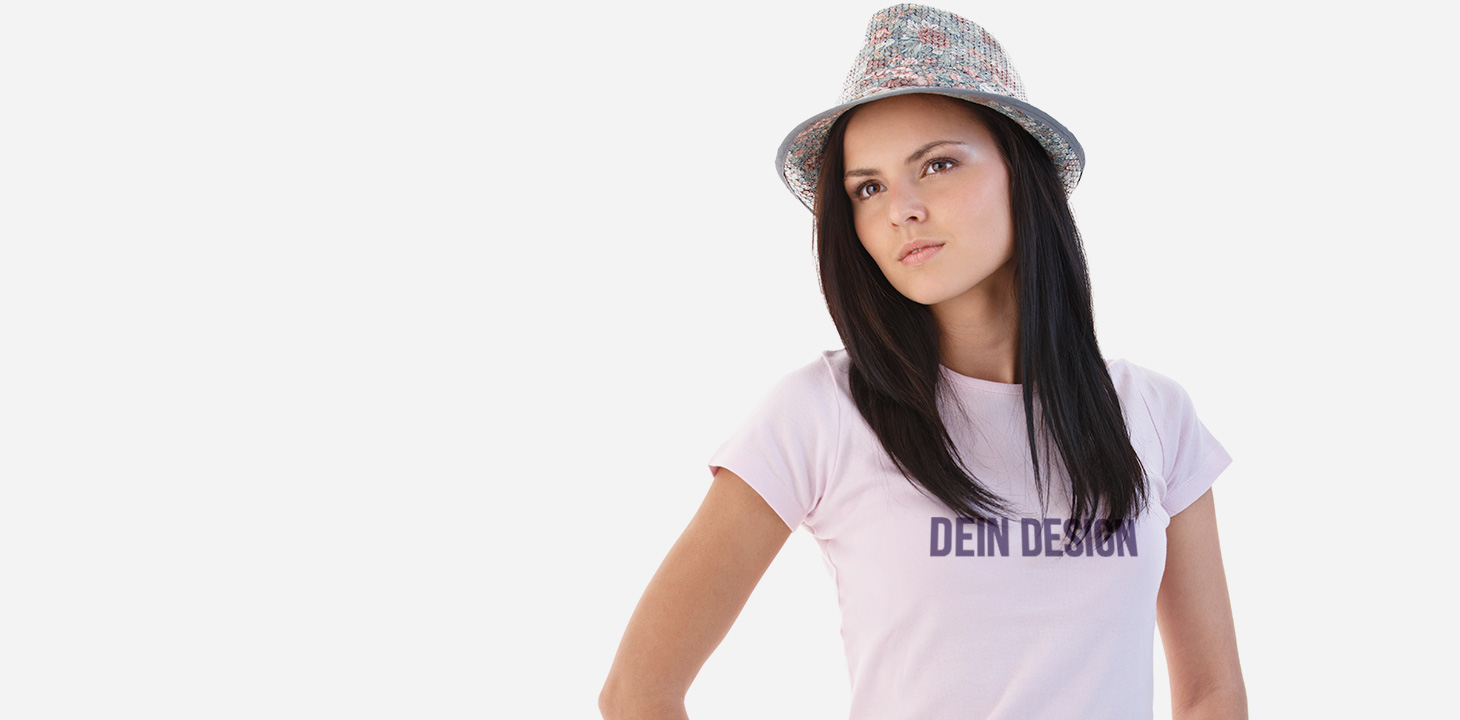 Damen T-Shirt mit Foto