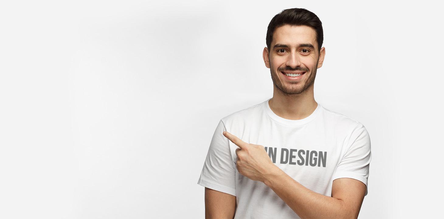 Herren T-Shirt mit Foto